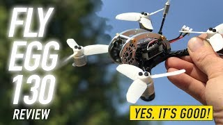 KINGKONG FLY EGG 130 - YES IT'S GOOD! - Honest Flight Review
