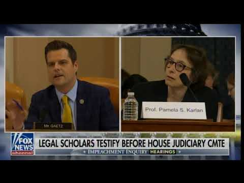 The Conservative Circus with James T. Harris - Watch Matt Gaetz BLAST Professor Karlan For Insulting The Presidents Son!