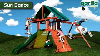 Sun Dance Swing Set By Gorilla Playsets