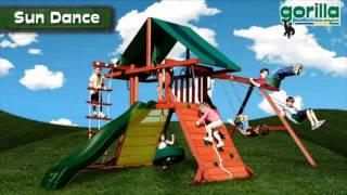Sun Dance Swing Set By Gorilla Playsets