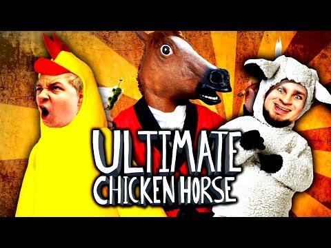 SO ein KACKSPIEL! - ULTIMATE CHICKEN HORSE