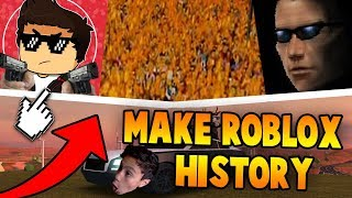 "WORLD RECORD ROBLOX HISTORY IN JAILBREAK?! ""Oh Roblox Roblox"" (Roblox Jailbreak)"