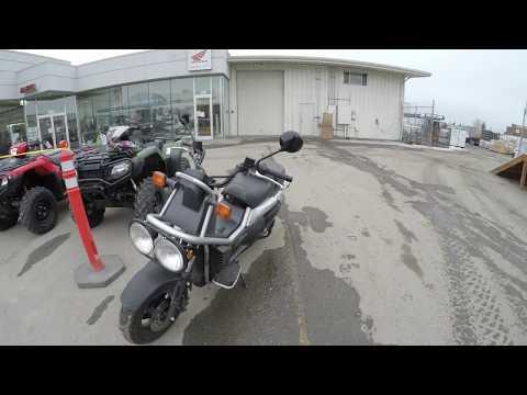 Honda Big Ruckus PS250 - Service Center to Kincaid Park - Gopro 4K