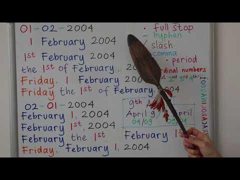 Mempelajari Cardinal dan Ordinal Numbers Bahasa inggris | Part 2.