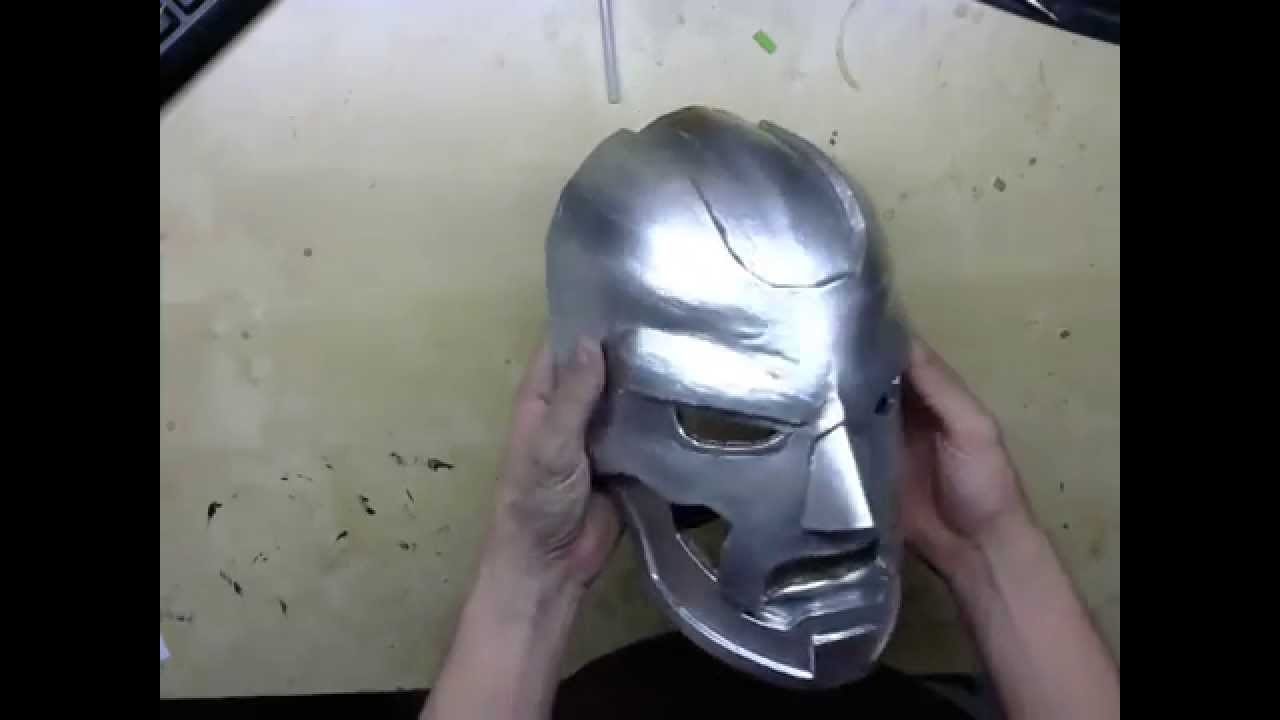 review on dr doom mask sanding process