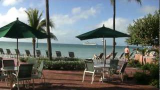 Cruise Ship arriving at Key West from Coconut Beach Resort 2009