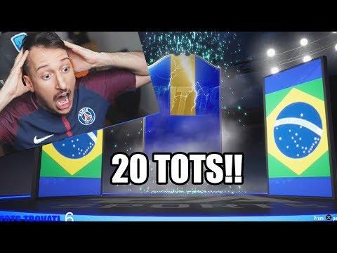 NEYMAR TOTSSSSS!!!? TROVO 20 TOTS, ICON E SBANCO FIFA! - Ligue 1 pack opening fifa 19