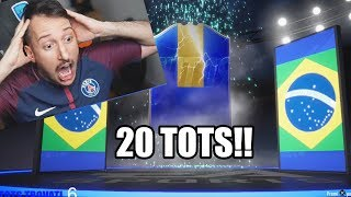 NEYMAR TOTSSSSS!!!? TROVO 20 TOTS, ICON E SBANCO FIFA! - Ligue 1 pack opening fifa 19