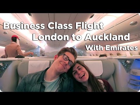 Business Class London to Auckland | Evan Edinger Travel