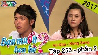 Chuyện hẹn hò mang tinh thần bóng đá của cặp đôi tiền vệ - tiền đạo   Hồng Sang - Vũ Kha   BMHH 253