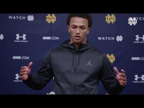 Notre Dame Football Pro Day - DeShone Kizer Press Conference