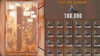 I RAIDED a BASE with 100K METAL UPKEEP PER DAY!