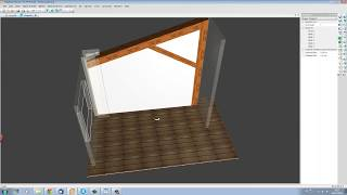Cabinet Software Demo: Storage Unit In Loft Design Project