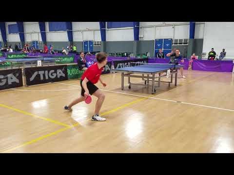 Adar Alguetti (2622) vs Samson Dubina (2453) - Open Singles (1/8)