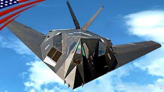 【伝説のステルス機】スカンク・ワークスが作った世界初のステルス戦闘機