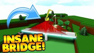 INSANE BRIDGE! | Baue ein Boot für Schatz ROBLOX