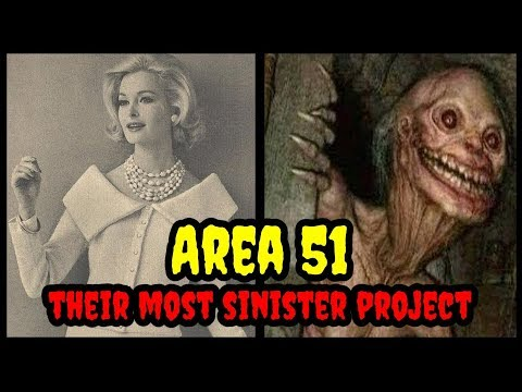 AREA 51 - They Turned her into a Monster -The Abigail Project