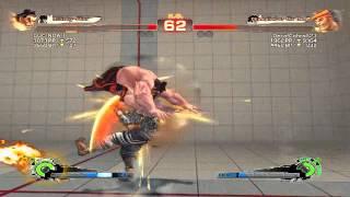 Ultra Street Fighter IV battle: E. Honda vs Adon
