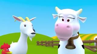 Домашние животные для детей  Детские песни