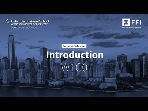 Intro Course 2 | ICCF @ Columbia Business School
