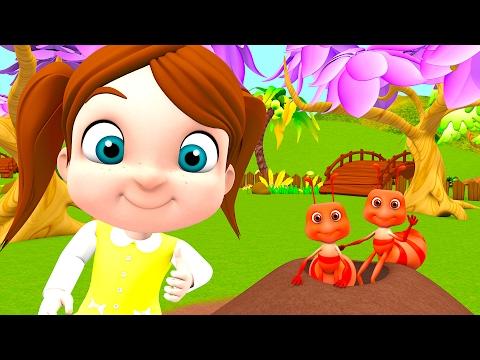 Ants Go Marching | Kindergarten Nursery Rhymes & Songs for Kids | Little Treehouse S03E23