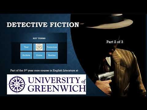 1 1  Detective Fiction Introduction Part 1