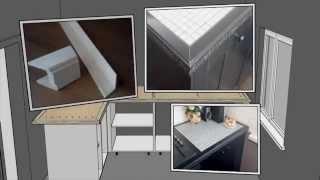 видео Столешницы для кухни в Жуковском