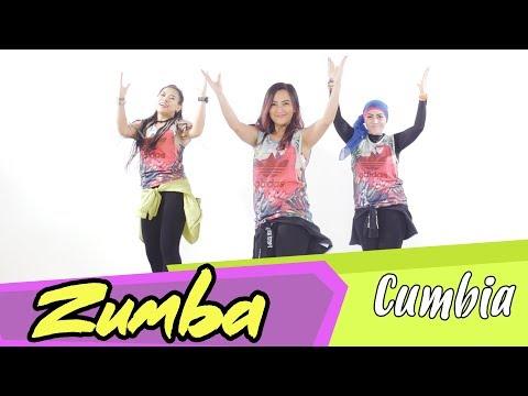 ZUMBA Dance CUMBIA | Senam Zumba mudah diikuti di rumah