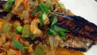 West Meets South - Blacken Catfish With Crawfish Etouffee Recipe