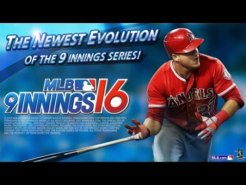MLB 9 INNINGS 16 Android / iOS Gameplay Trailer