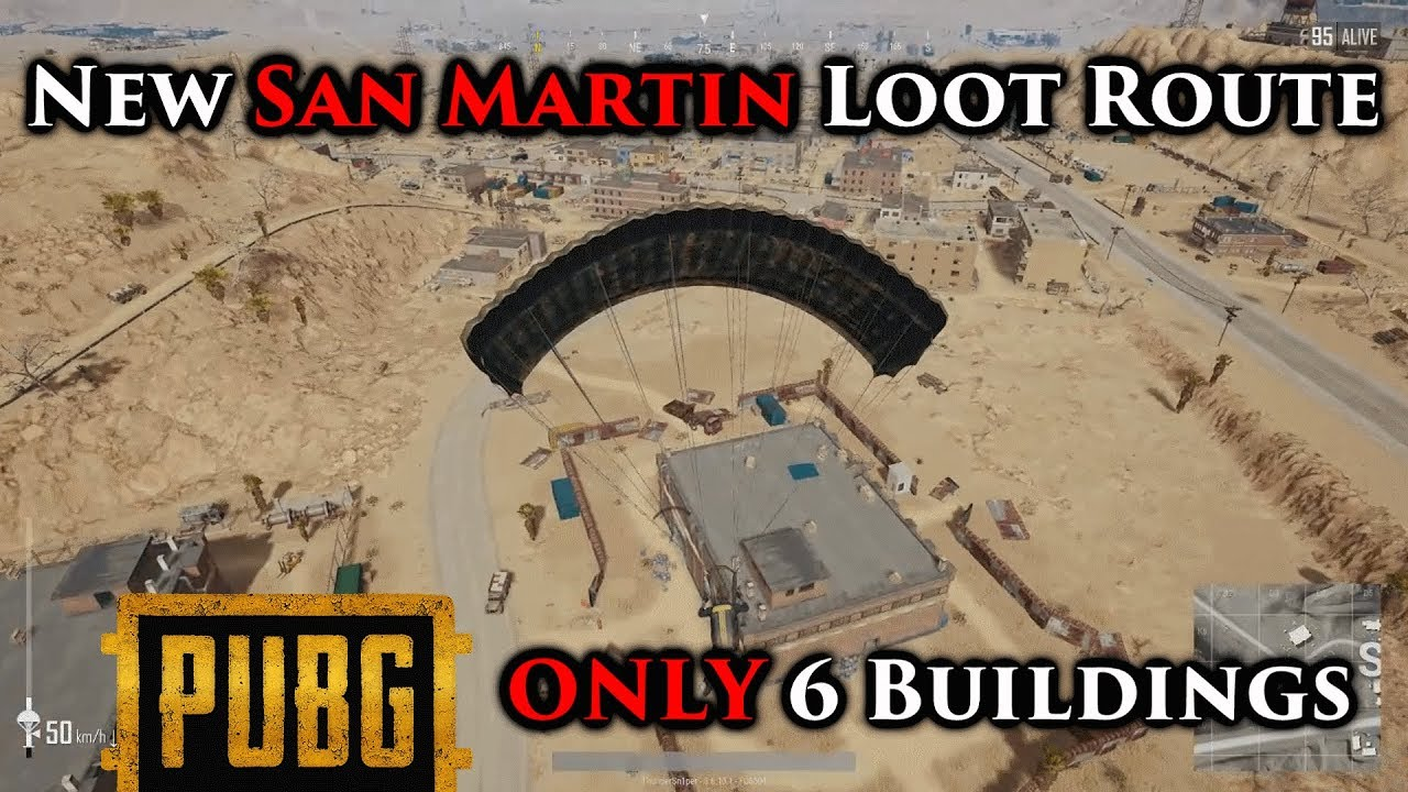 Playerunknown S Battlegrounds Maps Loot Maps Pictures: PUBG GUIDE: BEST Loot Route In Miramar Desert Map