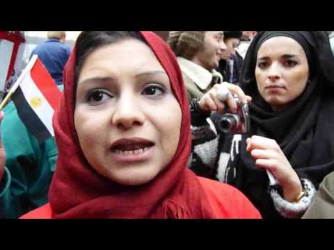 Asmaa Mahfouz at Occupy Wall Street