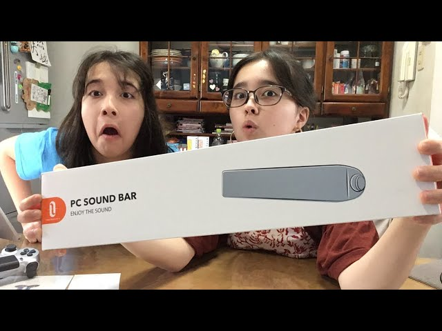 Unboxing PC Sound Bar by Taotronics! + making a song!  クーポン有