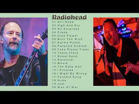 Radiohead Greatest Hits-The Best of  Radiohead Rock Classic-Radiohead Full Album Cover