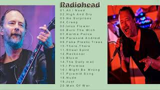 Radiohead Greatest Hits-The Best of  Radiohead Rock Classic-Radiohead Full Album Cover