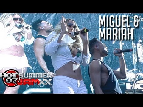 Miguel & Mariah Carey Perform