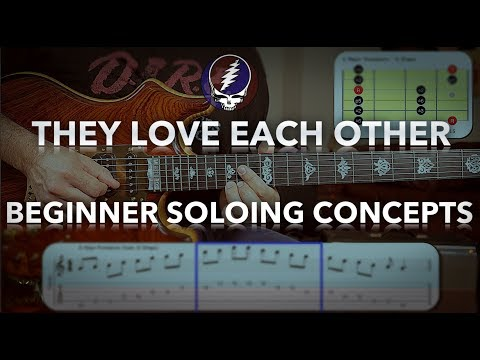 They Love Each Other Guitar Lesson - Grateful Dead Lead For Beginners
