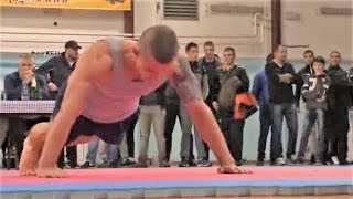 Most push-ups in an hour - New Guinness world record (Serbia)