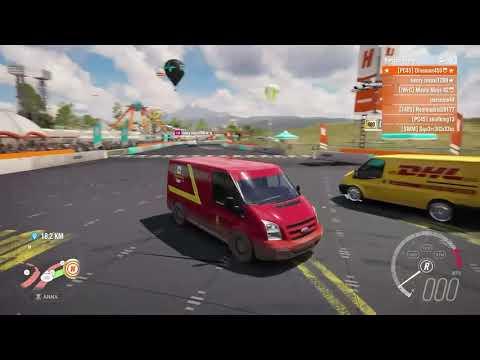 Van Race: Vans Vans and More Vans (FH3)
