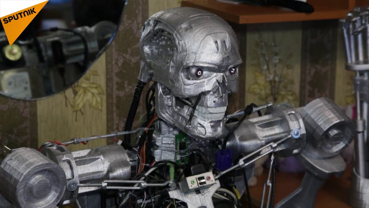 3d printed terminator t 800 youtube - Where can i buy a 3d printed house ...