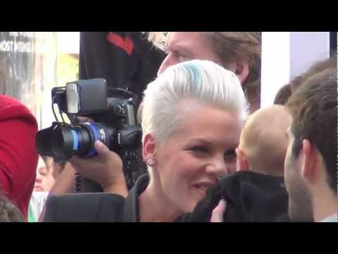 Happy Feet 2 Red Carpet Premiere Hollywood with Alecia Moore aka Pink