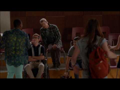 Glee - Tina, Sam and Blaine talk about their senior year 5x10