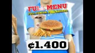 Burger King Full Menú