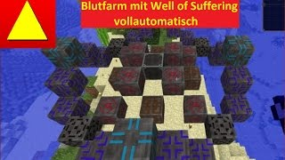 Block Light Vollautomatische Blutfarm mit Well of Suffering Blood Magic Grundlagen Tutorial