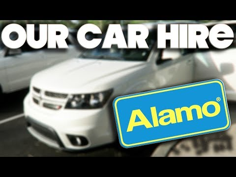 OUR ALAMO SUV CAR HIRE & SAT NAV - ORLANDO - FLORIDA - MAY 2017