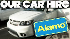 OUR ALAMO SUV CAR HIRE & SAT NAV - ORLANDO - FLORIDA - MAY 2017