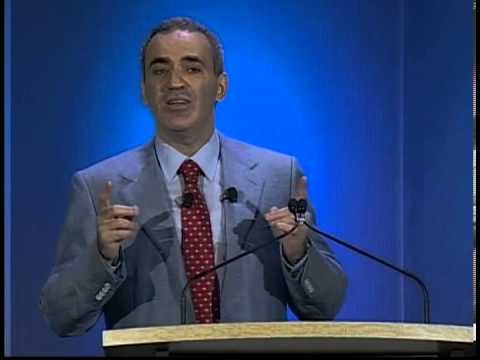 "Garry Kasparov ""Keynote Speech"" at the Radio City Music Hall, New York City"