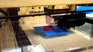 3Dプリンター試運転