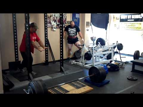 Justin Bethune 650 RAW deficit Deadlift