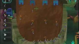 Lemmings Revolution Level 12-4